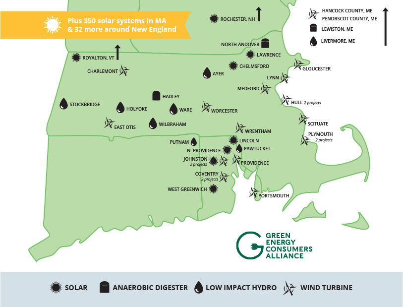 Green Energy Consumers green power resource map