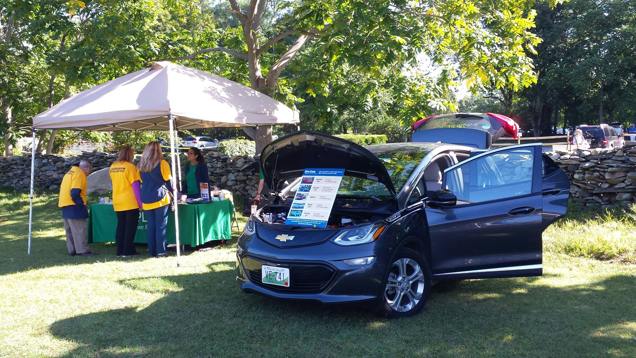Tabling with an EV display